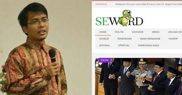 Pasca Maruf, Pimpinan Seword.com Istirahat dulu dari Relawan Jokowi