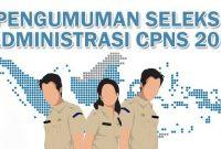 Hasil Seleksi Administrasi CPNS Kemenag 2018